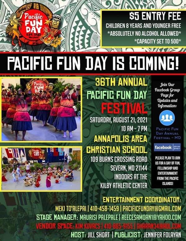 Pacific Fun Day Event